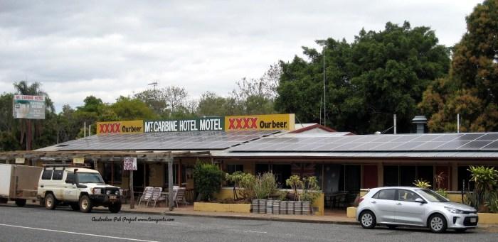 Mt Carbine Hotel Qld TG W