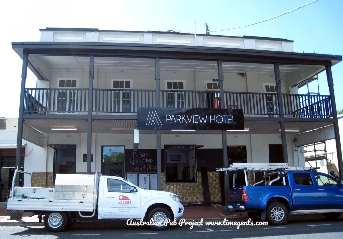 Parkview Hotel Gordonvale Qld 4 TG W
