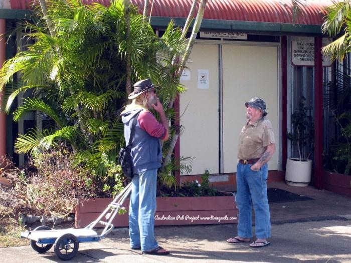 West Coast Hotel Temporary Bar Cooktown Qld 3 TG W