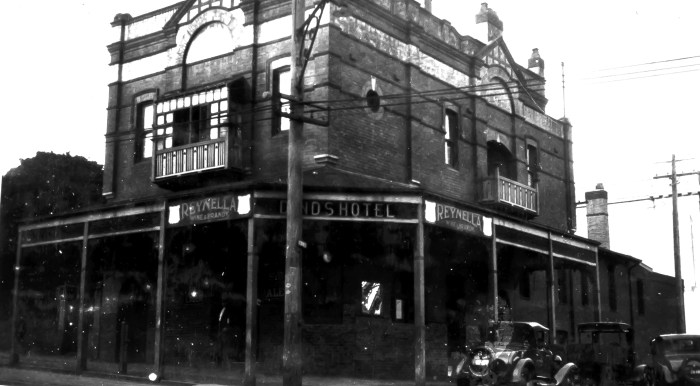Dinds Hotel Milsons Point North Sydney October 1930 B ANU