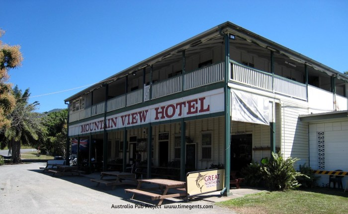 Mountain View Hotel Little Musgrave Qld 1 TG W