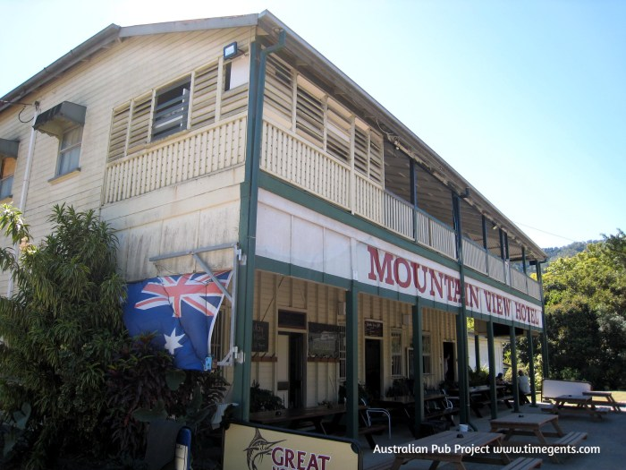 Mountain View Hotel Little Musgrave Qld 2 TG W