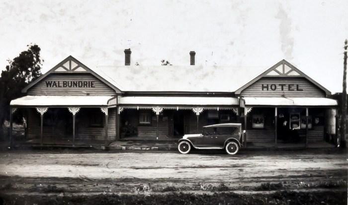 Walbundrie Hotel Walbundrie 1925 ANU