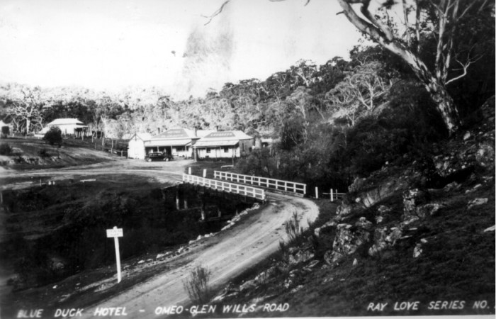 Blue Duck Inn Anglers Rest 1 Vic State Library