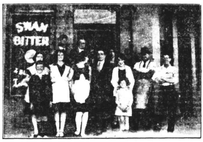 Gordon Hotel Bunbury 1929 Christmas