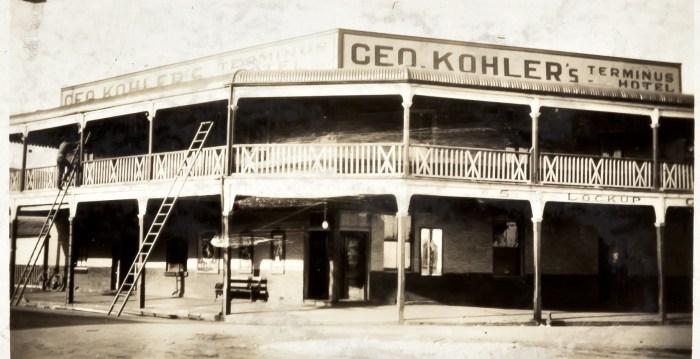 Terminus Hotel Singleton 1930 ANU