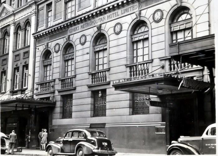 Ushers Metropolitan Hotel Sydney 1949 ANU