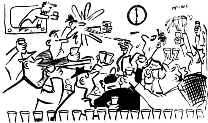 six oclock closing melbourne 1956