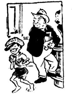 stolen pies boy 1929