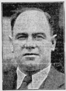 Bob Connell Burlington Hotel Bunbury WA 1937