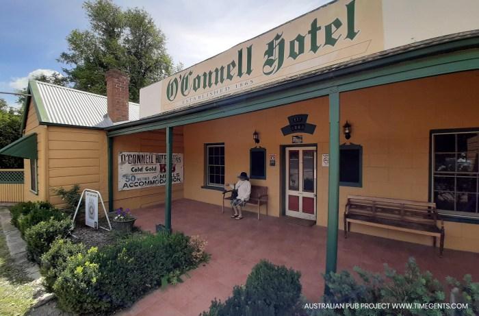Oconnell hotel oconnell nsw verandah TG W