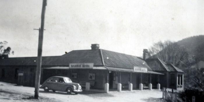 Railway Hotel Tarana NSW Oct 1955 NBA ANU