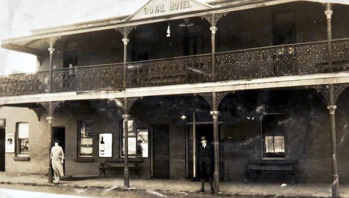 Royal Hotel Oberon NSW 1925 NBA ANU