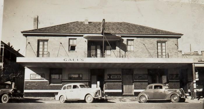 Tourist Hotel Oberon NSW 1936 NBA ANU