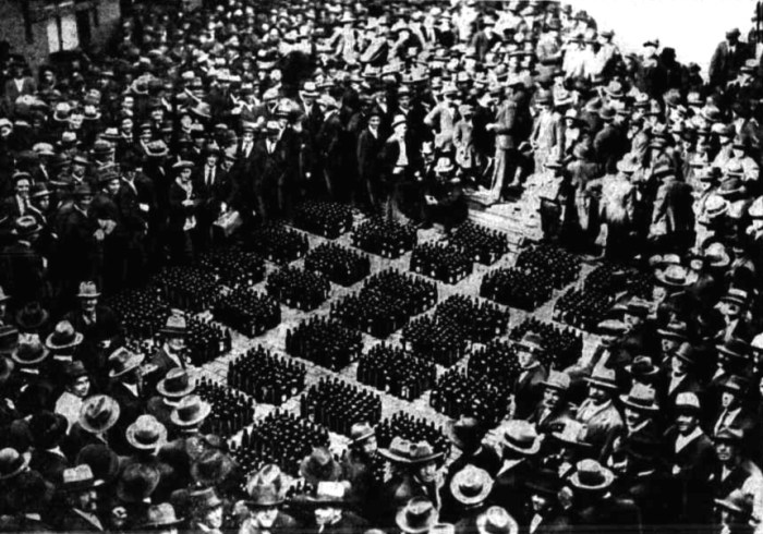 confiscated liquor 1924