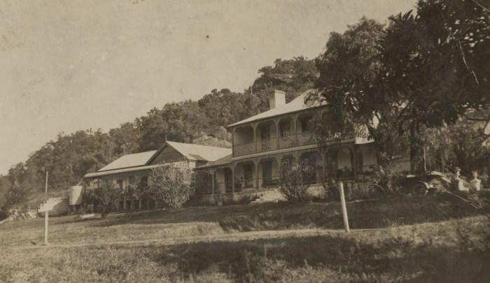 Hawkesbury Hotel later Wisemans Inn Hotel Wisemans Ferry 1923 NBA ANU 1