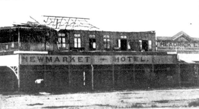 Newmarket Hotel Cairns 1918 Adelaide Observer