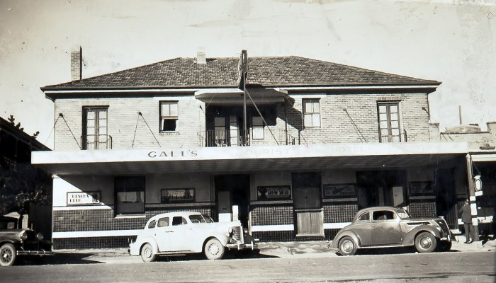 Tourist Hotel Oberon NSW October 1939 ANU NBA