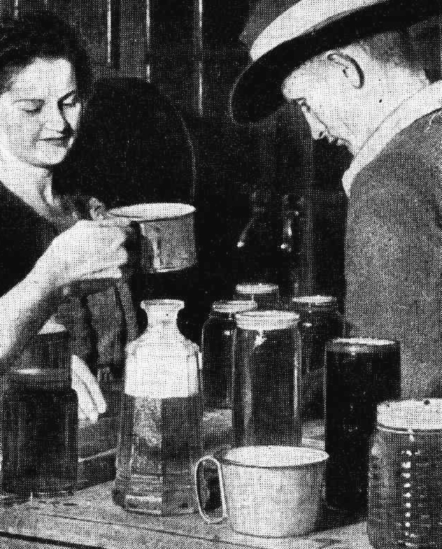 cairns beer mugs 1944