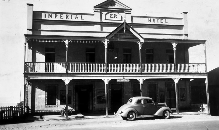 Imperial Hotel Clifton NSW 1939 NBA ANU