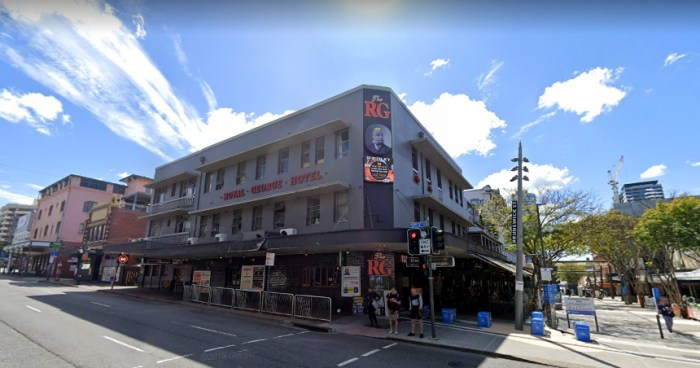 Royal George Hotel Fortitude Valley Qld Google