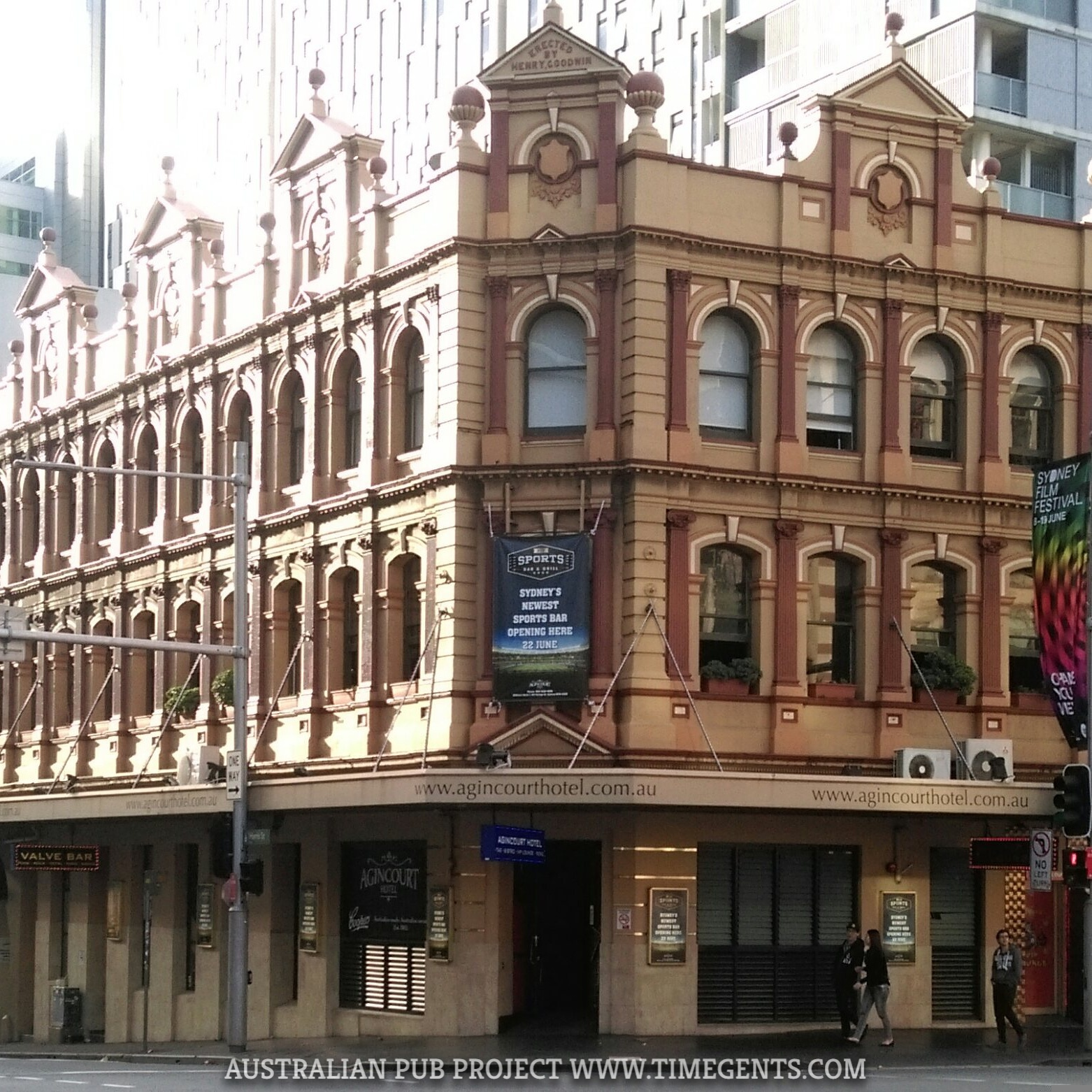 Feature pub: Agincourt Hotel, Broadway Sydney