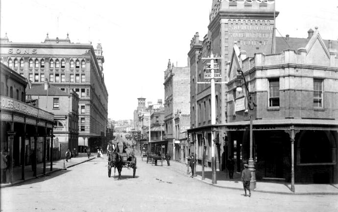 George Street hooligans
