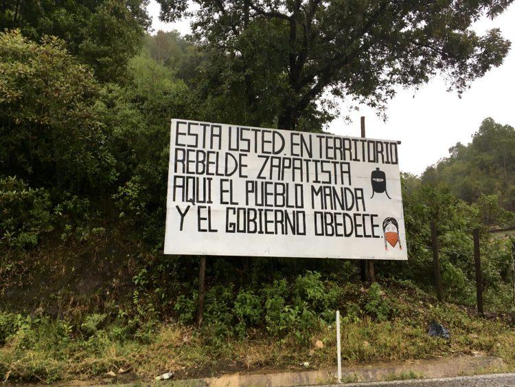 Zapatista territory
