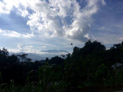 View from Huautla de Jiménez