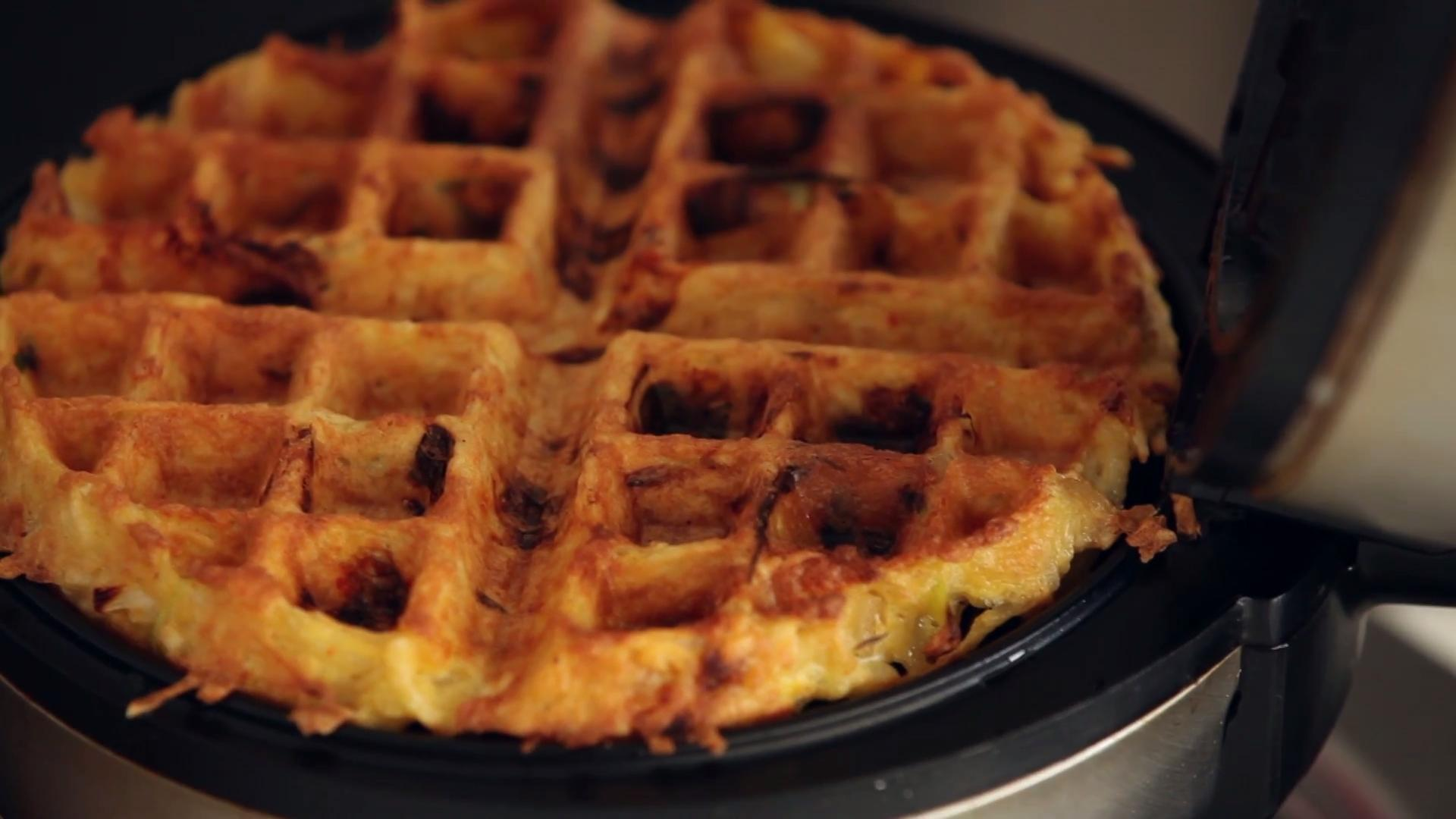 The next time you're planning out a menu, consider adding one of her popular dishes to your weeknight rotation. How To Make A Kimchi Hashbrown Waffle Food Wine