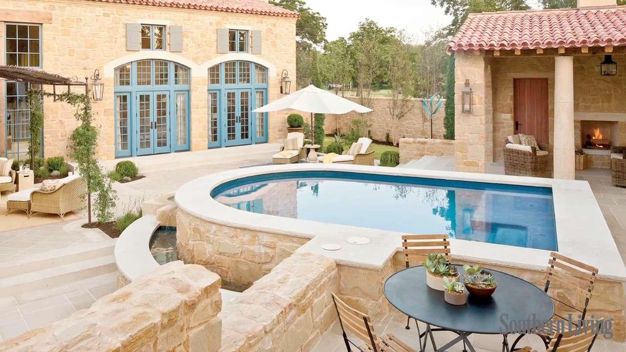 2011 Texas Idea House Outdoor Living - Southern Living on Southern Outdoor Living id=26160