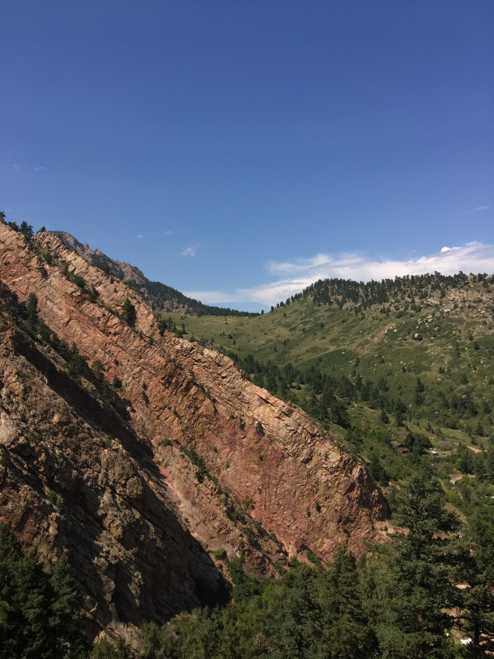 Eldorado canyon edge