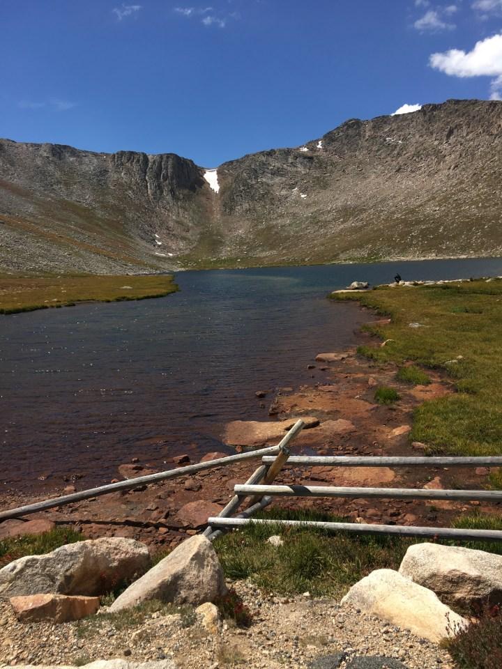 mount evans lake