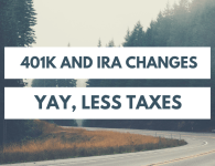 401k and IRA contributions limits for 2019 are going up!