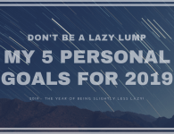 5 Attainable Personal Goals for 2019