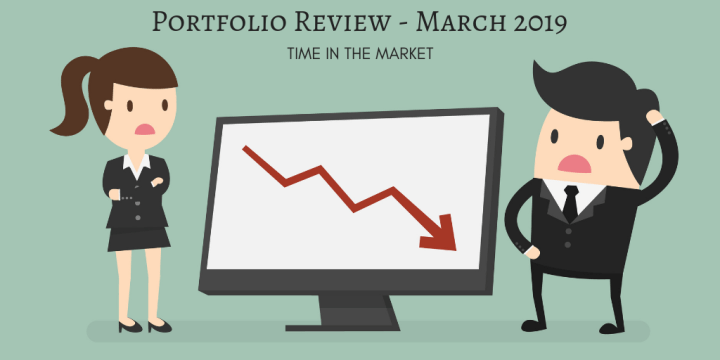 Healthcare stocks falling are offset by contributions in my March 2019 portfolio update