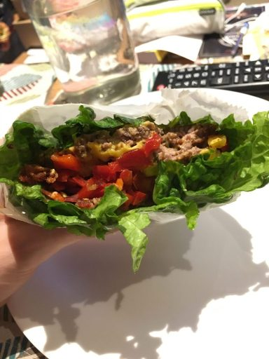 Benefits of the keto diet include eating burgers