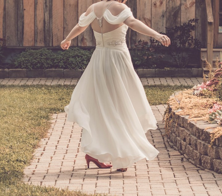 A wedding dress can be costly especially if you need alterations