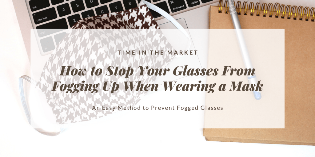 How to stop your glasses from fogging up when wearing a mask