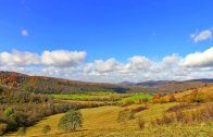 Bieszczady fall | Color Trails timelapse