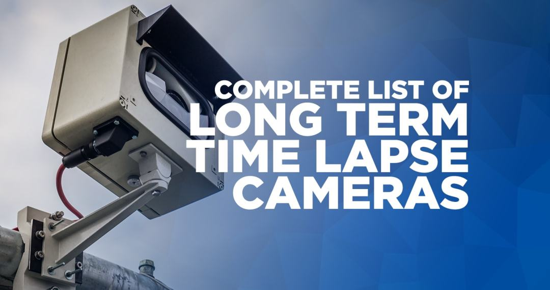 Long term time lapse camera