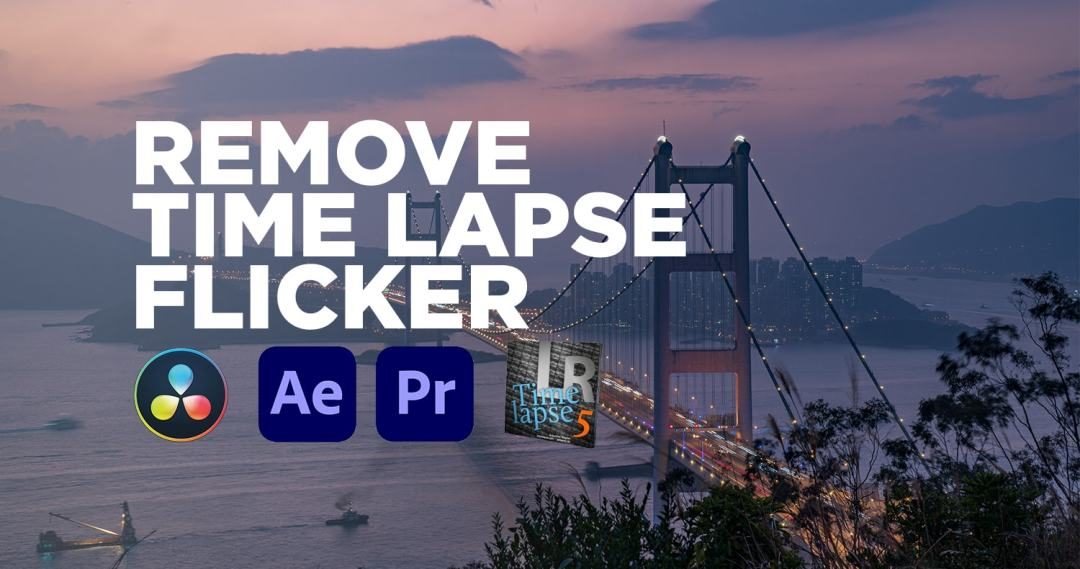 Remove Flicker from Time Lapse