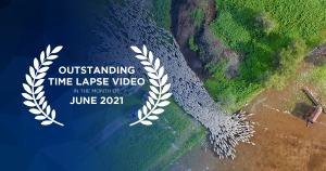 Outstanding time lapse videos in June 2021