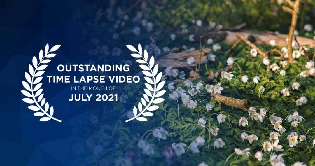 Outstanding time lapse videos in July2021