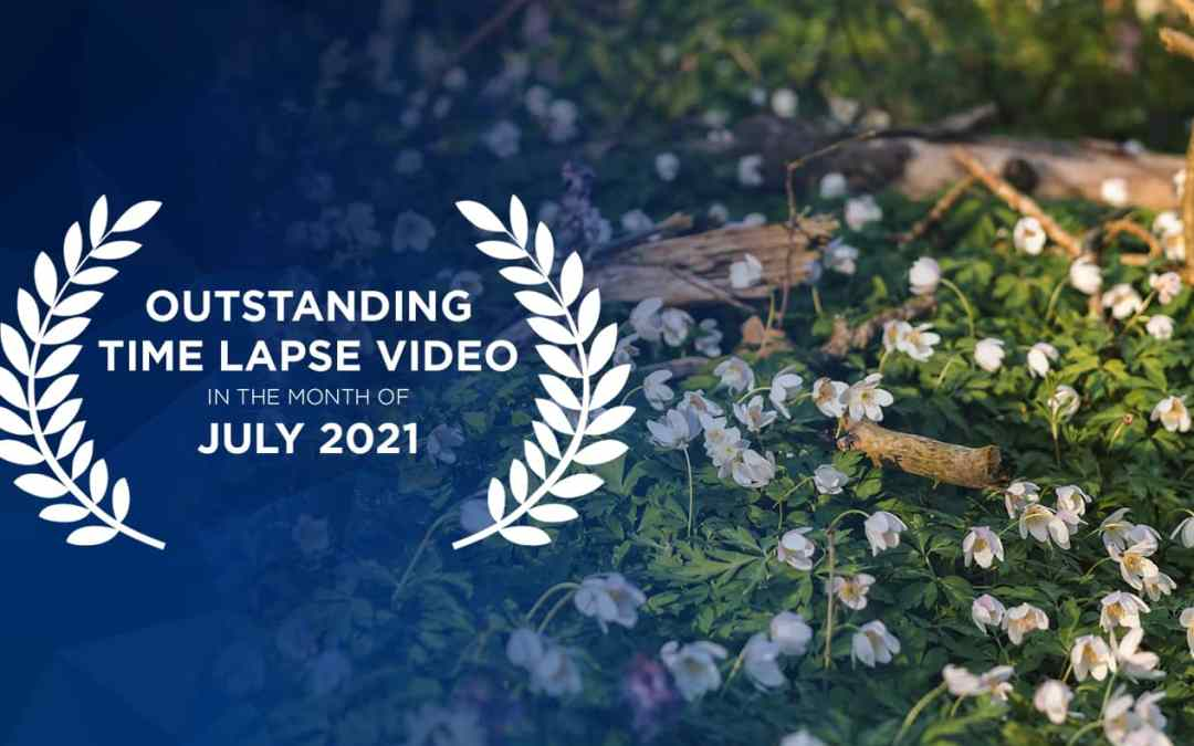 Outstanding time lapse videos in July 2021