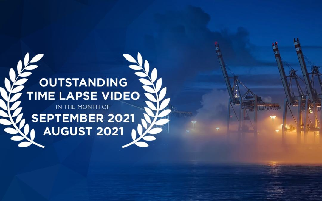 Outstanding time lapse videos in August/September 2021