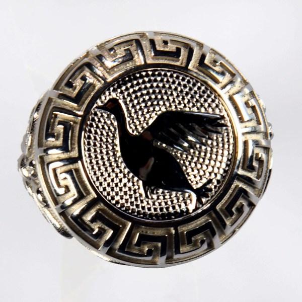 anello bianco anatra baianca