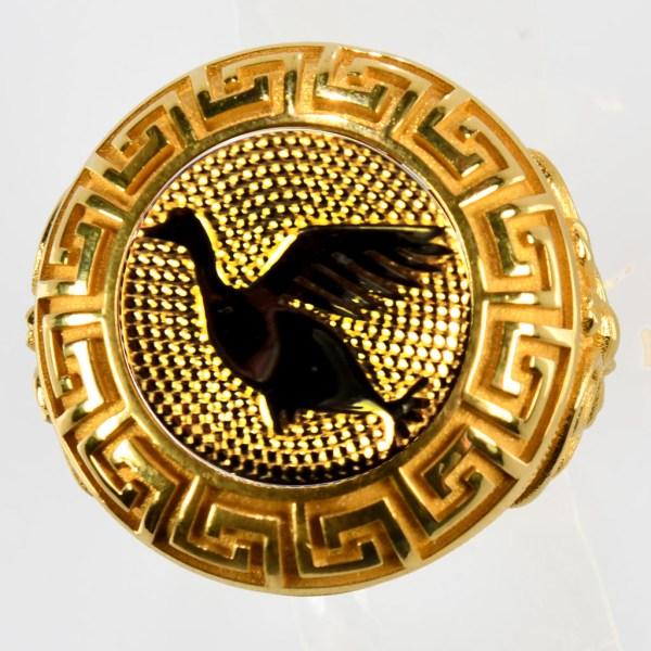 anello giallo anatra gialla