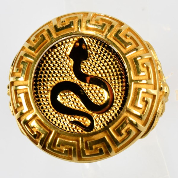 anello giallo vipera gialla