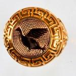 anello rosso anatra rossa